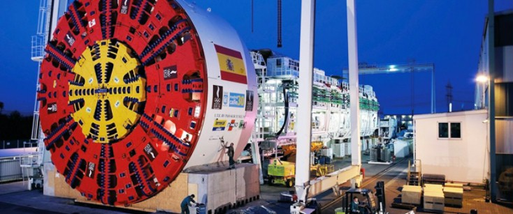 Tunnel boring machines from Bosch Rexroth