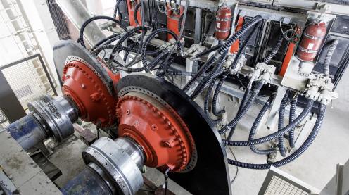 Roller presses of Wopfinger Baustoffidustrie GmbH