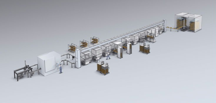 Bosch Rexroth automation solutions for assembly lines
