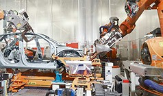 High level of automation for assembling the body of the A3