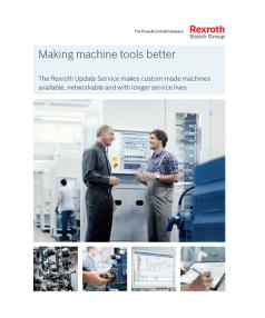 Making machine tools better