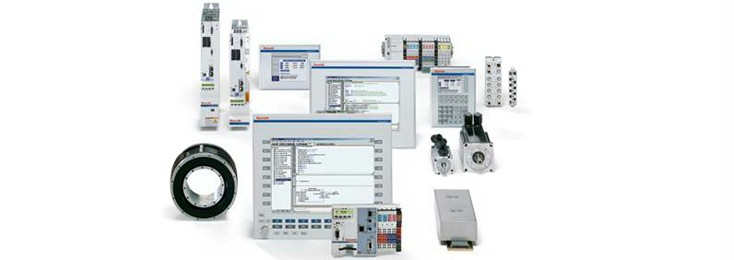 Rexroth electric drives and control components for packaging and processing machines