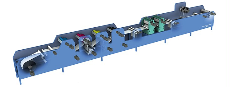 Label printing machine from Bosch Rexroth