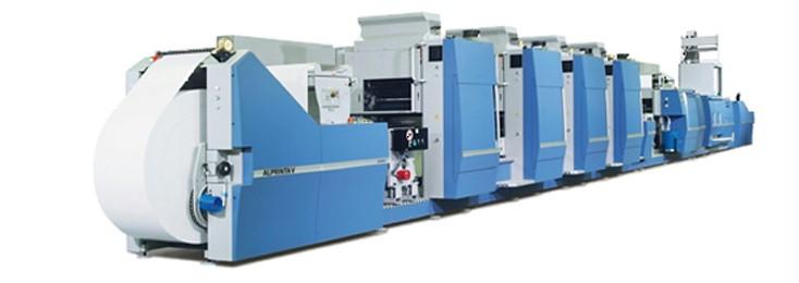 a narrow web production machine