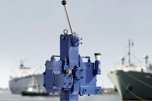DSE winch control block
