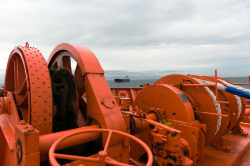 Anchor winch drives