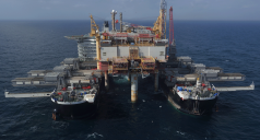 Pioneering Spirit, Allseas reference story single lift installation