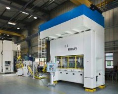 Die-cutting and forming machines