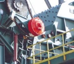 Infeed Conveyor with Hägglunds Drive Solutions