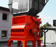 Shredder with Hägglunds Drive Solutions