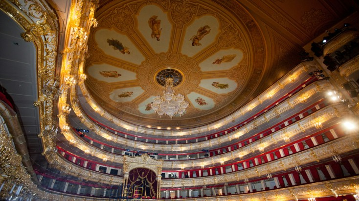 Bolshoi refurbishment by Bosch Rexroth