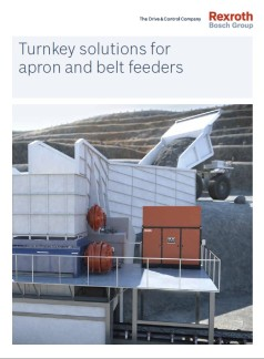 Folder Turnkey solutions for Apron and Belt feeders