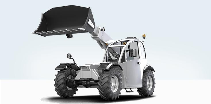 Construction Machinery - Telehandlers | Bosch Rexroth AG