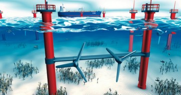Tide and Ocean Current Energy Converters