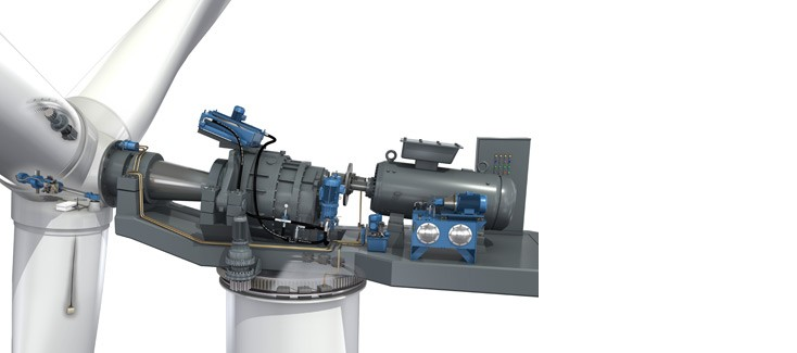 Rexroth solutions for wind turbine drive trains