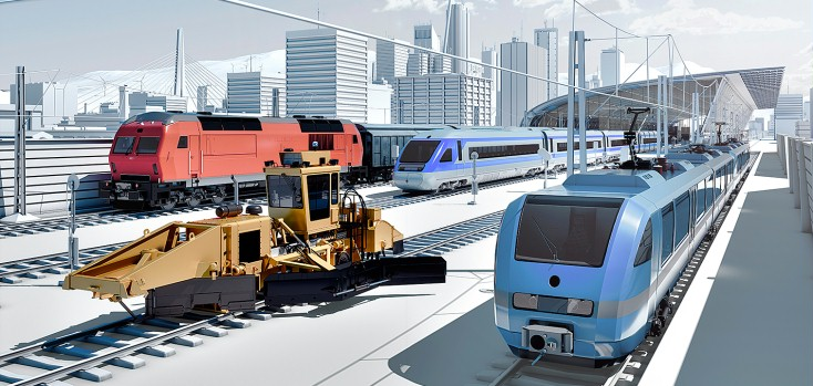 Rexroth rail vehicles