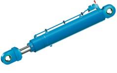 Large hydraulic boom cylinder