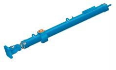 Large hydraulic miter gate cylinder