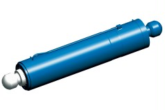 Large hydraulic thrust cylinder