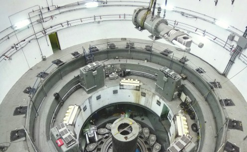 Large Hydraulic Power Generator Cylinder