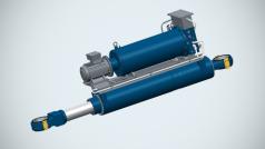 Electro Hydraulic Actuators (EHA)   Bosch Rexroth AG