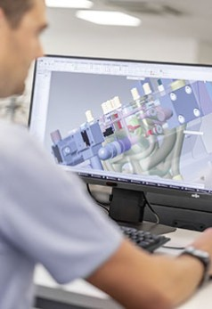 Design and simulation with digital twin