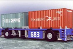 Driverless container transporter CT60
