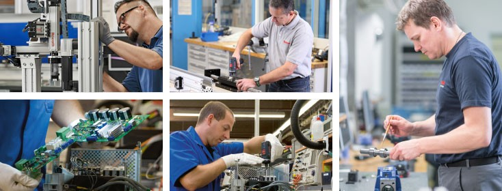 Repairs by Bosch Rexroth