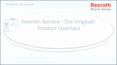 Product Overhaul by Bosch Rexroth