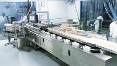 IndraDrive Mi: High throughput rates in sandwich packaging