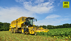 Hydraulics for the beet harvester