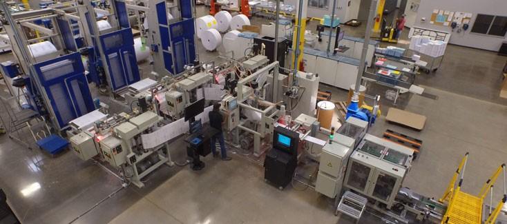 Fast Finishing in Digital Printing
