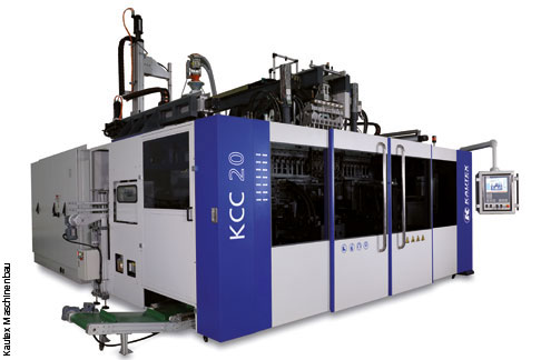 KCC series machines are used by customers in sectors such as packaging, for example, or for special applications.