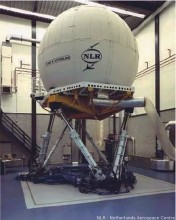 Flight simulator for the Netherlands Aerospace Center, NLR