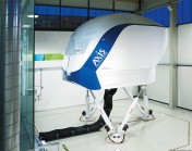 Flight simulator for pilots