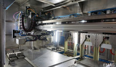 Ready-to-install handling system for electrical metal processing