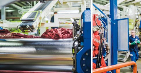 From cooling hose to wiper blade: Rubber compounds play an important role in both industry and day-to-day life. Materials are amongst the other things produced on the rolling mills at the KRAIBURG Gmb