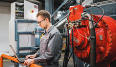 Predictive maintenance makes maintenance in the rubber industry more efficient