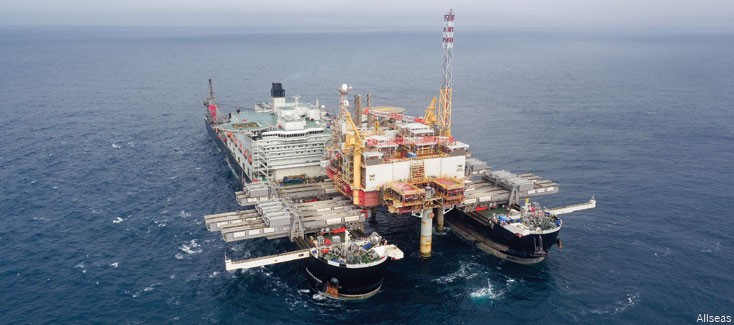 Development and construction of the Pioneering Spirit, an exploration for Allseas and Bosch Rexroth