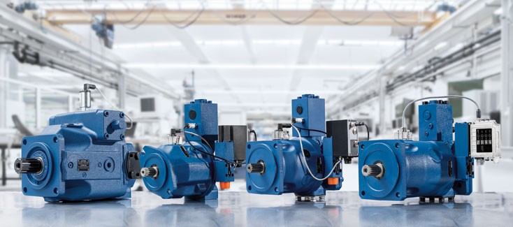 The control system from Rexroth finds the correct setting for profile extrusion presses