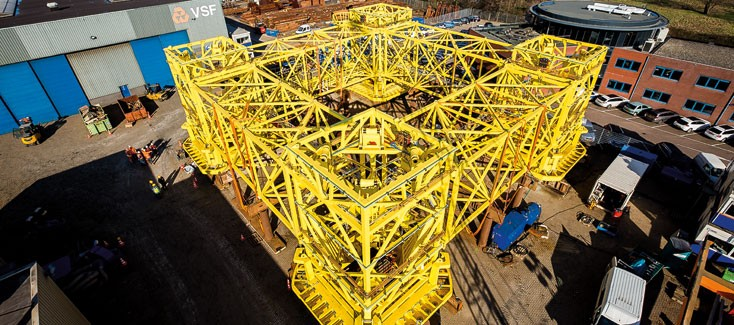 New ways for deploying piles for an offshore windfarm