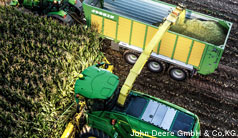 Clever hydraulic concept for self-propelled forage harvesters