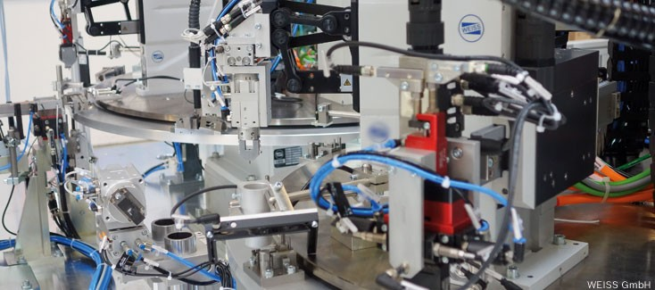 Rexroth Technology Gets Weiss Handling Unit Ready for Industry 4.0 Solutions