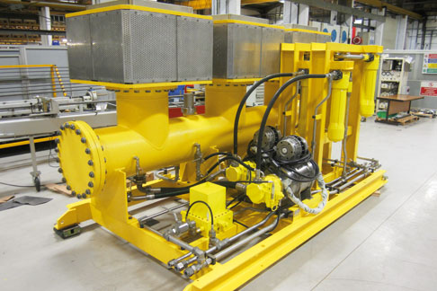 Bosch Rexroth's precision subsea Electro Hydraulic Equipment.