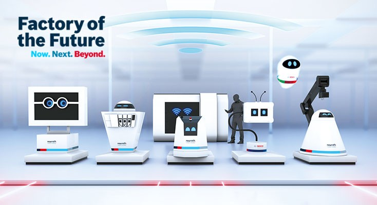Hannover Messe 2018 Bosch Rexroth Ag
