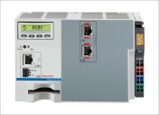 The IndraControl L25 controller enhances Rexroth's portfolio of controllers for medium-power PLC and