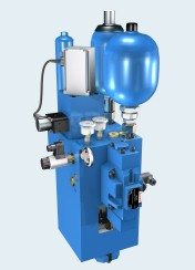 Punching cylinder axes from Rexroth