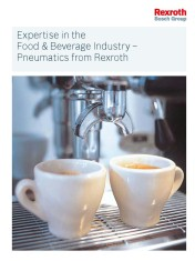 Expertise in the Food & Beverage Industry - Pneumatics from Rexroth