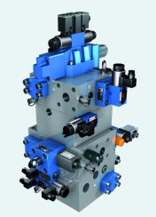 The basic module of the new Rexroth press control