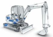 With optimized components, Rexroth provides improved performance and more comfort for compact excava